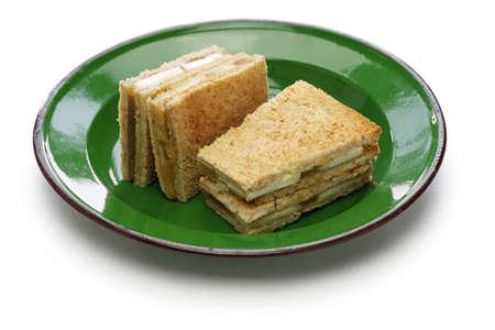 singaporean: Kaya jam toast sandwich, singaporean malaysian breakfast