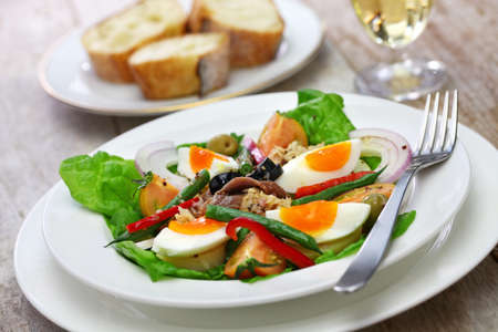 nicoise salad, french cuisine Stock Photo