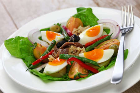 nicoise salad, french traditional cuisine Stock Photo