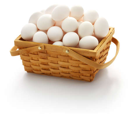 dont put all your eggs in one basket. American popular proverbs and sayings Stock Photo