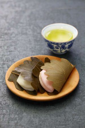 Kashiwa mochi, japanese traditional sweet