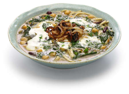 Ash reshteh, persian new years noodle soup