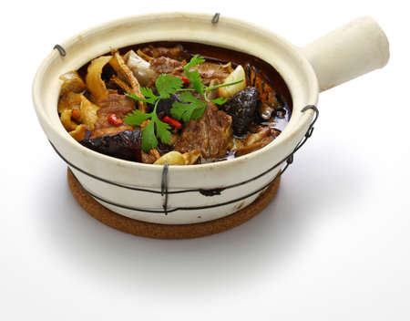 Malaysia bak kut teh, traditional chinese herbal pork ribs soup Stock fotó