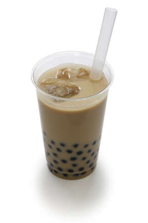 bubble tea, a Taiwanese drink