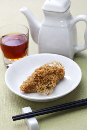 deep fried honeycomb taro dumplings, Chinese dim sum
