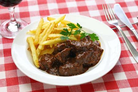vlaamse stoofpot, carbonade flamande en belgische keuken