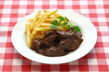 ragoût de bœuf flamand, carbonade flamande et cuisine belge