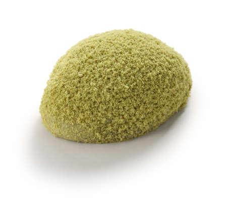 Uguisu mochi, a traditional japanese sweets wagashi