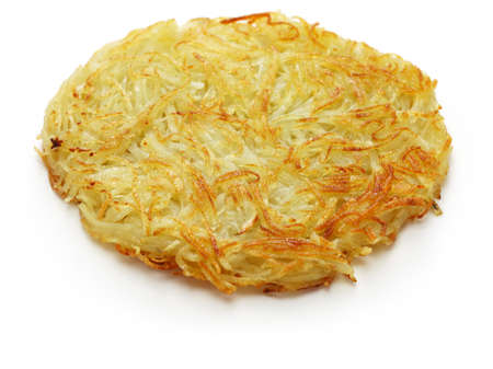 diner style hash browns 写真素材