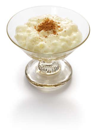 Spanish rice pudding, arroz con leche