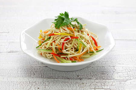 Tofu Noodle salad, Chinese cold dish