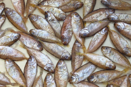 Sukugaras is a Japanese Okinawan delicacy that is the salted young rabbitfish