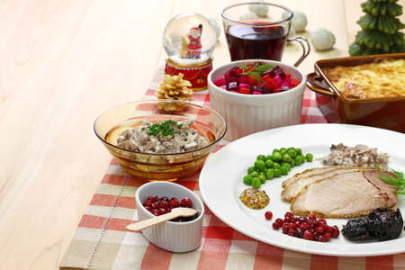 traditional finnish christmas food Stock fotó