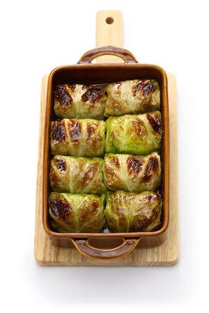finnish baked cabbage rolls