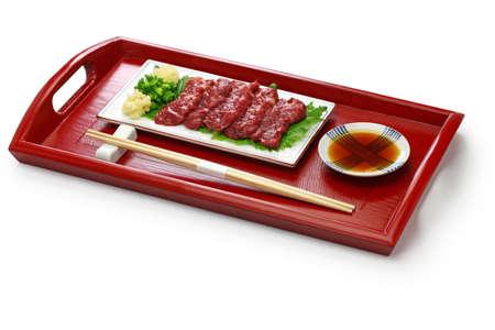 basashi, japanese traditional cuisine