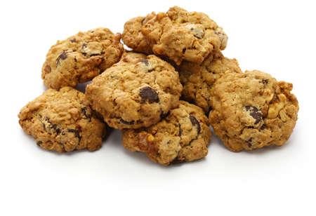 homemade granola chocolate chips cookie