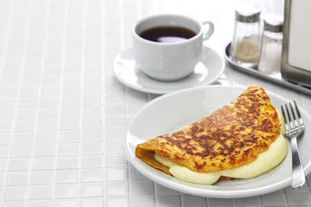 cachapa, venezuelan corn pancake with handmade cheese 版權商用圖片