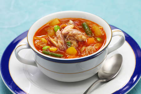 maryland crab soup, american cuisine