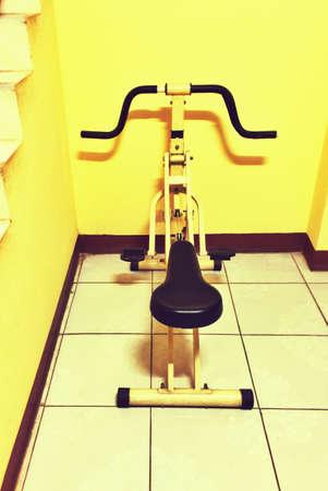 illustration: Fitness machine