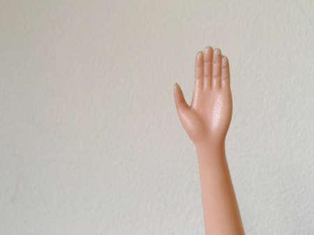 hope: Voting hand