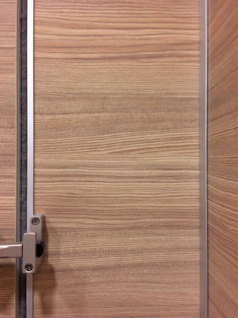 silver: Restroom door