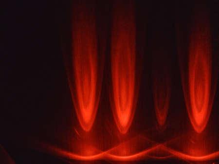black white red: Red light Stock Photo