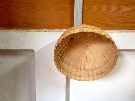 texture: Bamboo basket