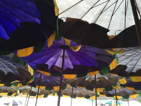 illustration: Sea umbrellas