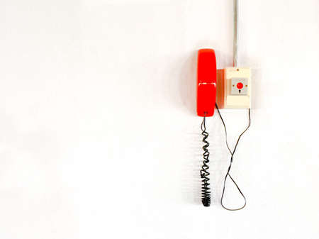 wire: Emergency call Stock Photo