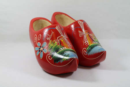klompen: Red Cloggs,
