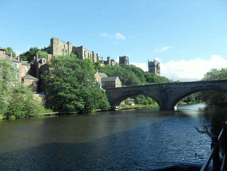 durham: Durham Castle and Cathedral,