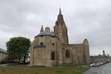 calais: Church in Calais France  Stock Photo