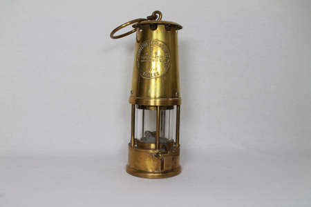 fire pit: Davey Lamp invented by Sir Humphry Davy