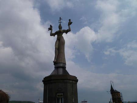 v lake: Imperia Statue in Constance,