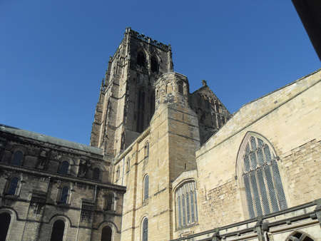 durham: Durham Cathedral in the North East of England,