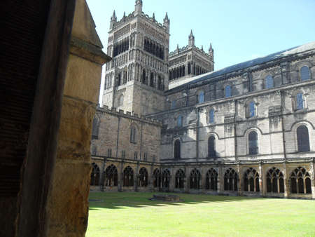 buttresses: Durham Cathredral,