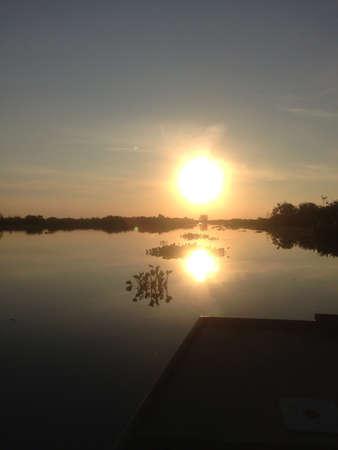 Louisiana marshland  Stock Photo