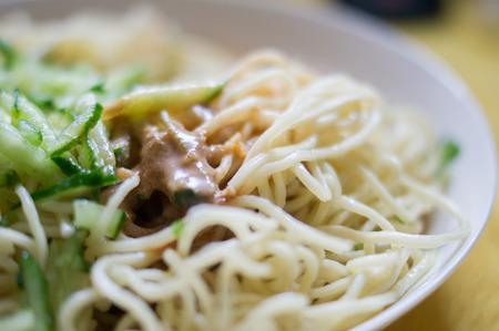 cold: cold noodles