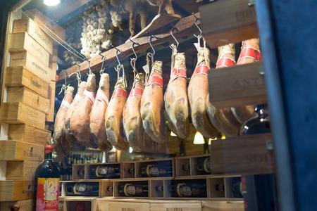 butcher shop: butcher shop Editorial