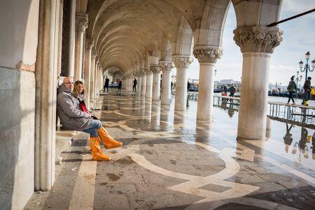 high tide: High tide in Venice