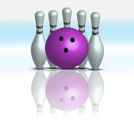 objects: bowling 3d objects
