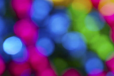 colorful abstract background in blue, pink, yellow and green Stock Photo