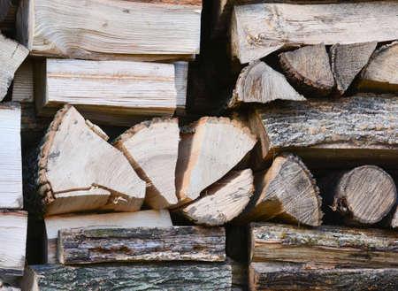stacked split wood background