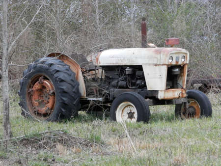 old tractor: Old tractor
