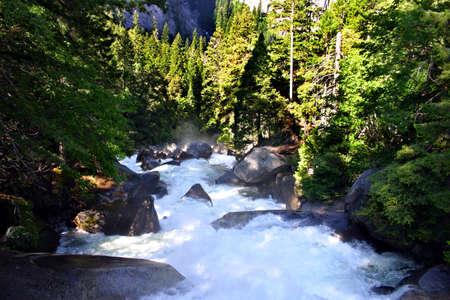 The Yosemite Valley in Yosemite National Park, California Stock Photo - 614284