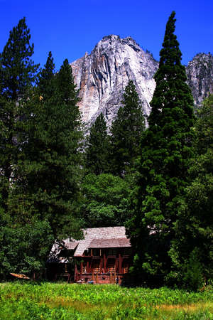 The Yosemite Valley in Yosemite National Park, California Stock Photo - 614258