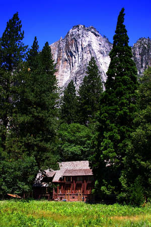 The Yosemite Valley in Yosemite National Park, California Stock Photo - 614256