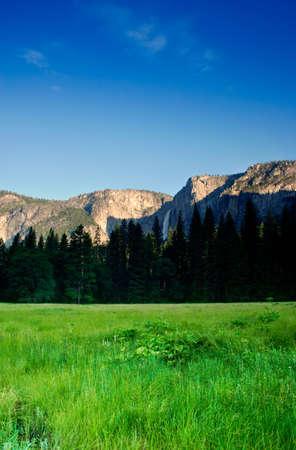 The Yosemite Valley in Yosemite National Park, California Stock Photo - 614195