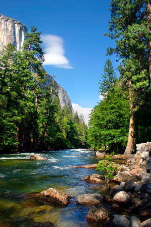 el capitan: El Capitan is a 3,000 foot vertical rock formation in Yosemite Valley and Yosemite National Park. It is one of the most popular monoliths with rock climbers in the world.