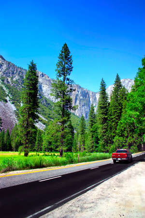 The Yosemite Valley in Yosemite National Park, California Stock Photo - 614120